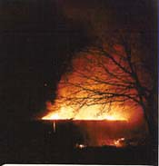 6 march 1992 scout hut burns down