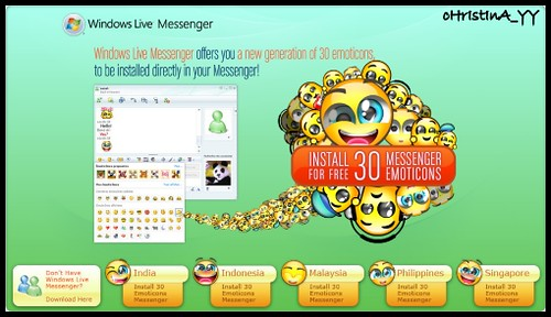 Install 30 Messenger Emoticons for Free