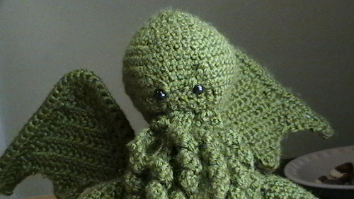 Ravelry Dread Crocheted Cthulhu Pattern By Becky Travis