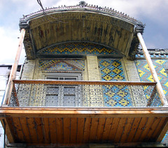 old house (shagreen*) Tags: architecture iran balcony oldhouse  mashhad khorasan  mashad historicalhouse  goldstaraward touhidstreet persionarchitecture