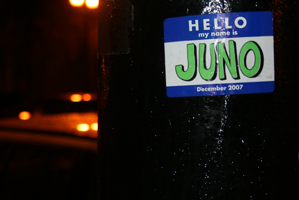 Juno Sticker