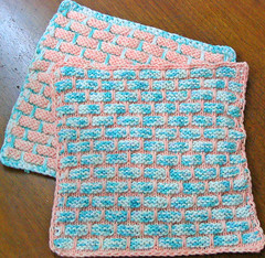 Fraternal Twin Ball Band Dishcloths