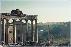 Fori dal Campidoglio post modifica (fradifri) Tags: roma foriimperiali