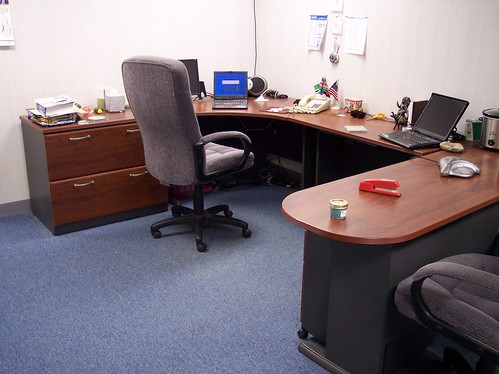 Office without the Jenks Shack