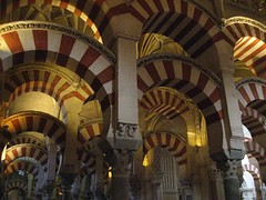 Cordoba Cathedral Arches - Detail (Sir Francis Canker Photography ) Tags: nyc trip italy panorama espaa paris london tourism church beautiful architecture america turkey nice interesting spain arquitectura europe shanghai cathedral interior gorgeous islam petra arc egypt picture catedral iglesia arches visit istanbul mosque tourist andalucia best unesco jordan chiesa morocco moorish cordoba mosquee mezquita andalusia ever crdoba damascus andalusien espagne arco architettura eglise cordova spagna interno islamic spanje arcos columna archi moschea lucena mihrab  genial arenzano cordoue catedrale canker esplendido sirfranciscankerjones corduba alhaken pacocabezalopez