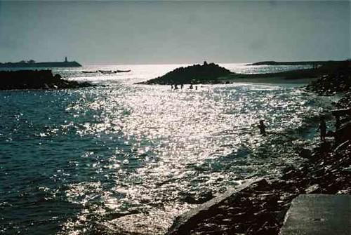 Puerto de Corinto, Grecia.