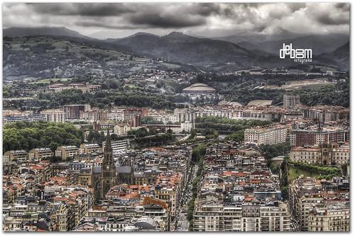 San Sebastian by vandekaart