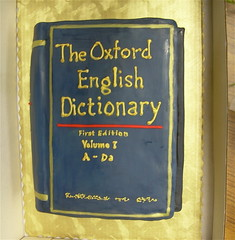 The Oxford English Dictionary (Cake!)