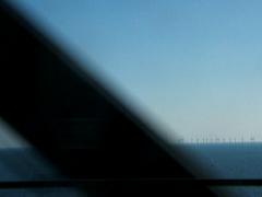 the windmills between sweden and denmark (douglas paulson) Tags: bridge denmark sweden windmills
