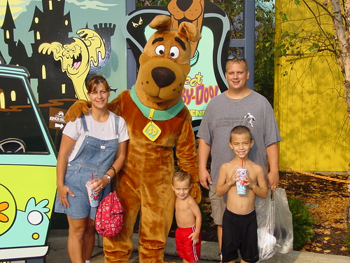 The Fam with Scooby