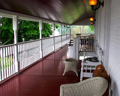 Rose Hotel Balcony