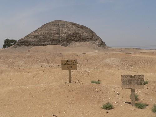 Amenemhat IIIs pyramide i Hawarra
