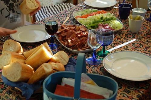 Summer time dinner