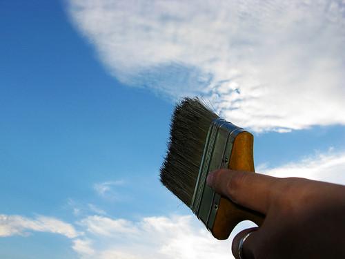 藍天白雲變化萬千,撥雲見日,撥亂反正 http://www.flickr.com/photos/anchime/2535501800/