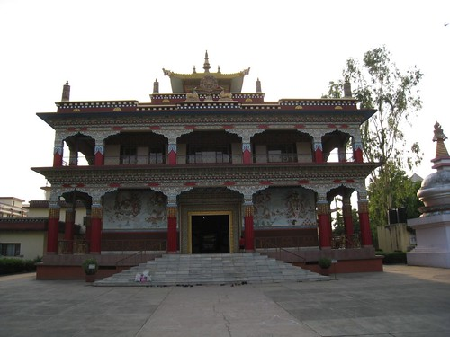 Tibetan Monastery in Bodhgaya, India