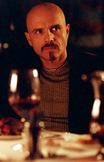 Joe Pantoliano as Cypher in The Matrix