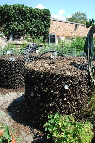Compost Silos
