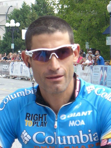 George Hincapie at the USPro Road Race