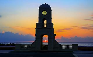 Palm Beach FL sunrise. ©®