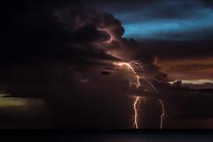 Storm at Dusk (betadecay2000) Tags: beta storm darwin northern territory gewitter nacht blitz blitze lightning wolke wolken cloud clouds 31072017 2017 stokes wharf hill nite langzeitbelichtung gewitterstimmung himmel