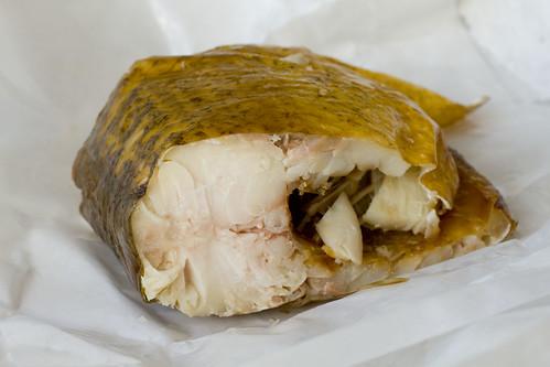 smoked whitefish segment