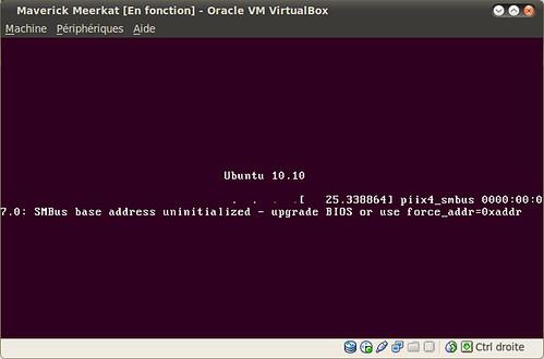 Installation d'Ubuntu 10.10