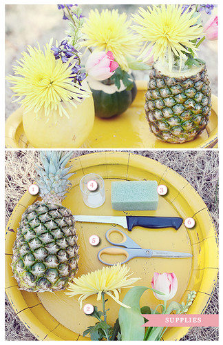 Fruit and Flower Centerpiece Image 1