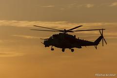 AH-2 da Força Aérea Brasileira (MI-35) sunset (Enilton Kirchhof) Tags: sunset brasil canon contraluz sabre helicoptero silhueta natalrn ah2 sunsetshot forcaaereabrasileira brazilianairforce mi35 canoneos5dmarkii asasrotativas fotoeniltonkirchhof cruzex2013 131112eni8005ceniltonkirchhof