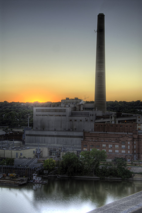 St Paul Power Plant