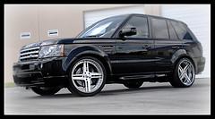 Range Rover On SEVAS QuattroStem (GREATONE!) Tags: black nikon florida miami wheels rover d200 rims suv range forged 18135mm sevas quatrostem