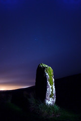 Maen Llia Standing Stone (Steve Castle) Tags: longexposure lightpainting wales night geotagged who 9 it breconbeacons torch 23 needs noise f4 minutes seconds wfc standingstone reduction menhir stevecastle sigma1020 maenllia welshflickrcymru brillianteyejewel wfccrew geo:lat=5185757 geo:lon=356163 nightbest
