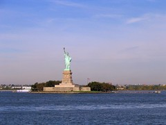 Statue of Liberty (dgj103) Tags: 2005 new york nyc newyorkcity blue usa ny newyork monument water statue america french liberty copper statueofliberty