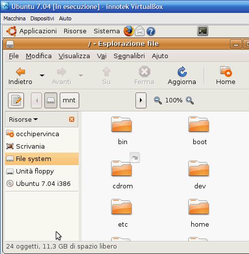 Fig. 4 - Compattazione disco virtuale - spazio guest diminuito