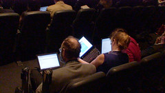 Mobile computing during sessions