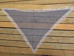 Antique Lace Shawl