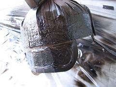 black painted swirls (NiMaGaMiN) Tags: halloween silver paper soldier costume paint roman glue helmet craft cardboard armor warrior centurion legionaire nickgarcia