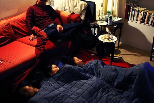 日本睡一團