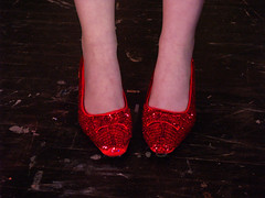 Feet of Dorothy (drurydrama (Len Radin)) Tags: its theatre massachusetts highschool musical educational wizardofoz berkshire baum drury thespian northadams berkshirecounty dramateam photomino highschooltheatre edta highschooltheater drurydramateam wwwdrurydramacom