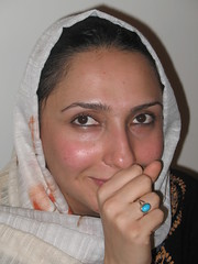 Firoozeh (hapal) Tags: portrait smile look pose iran creative commons ring creativecommons iranian       hapal  hamidnajafi
