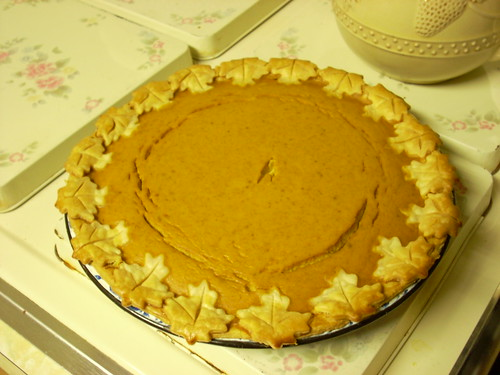 Pumpkin Pie ala Martha Stewart
