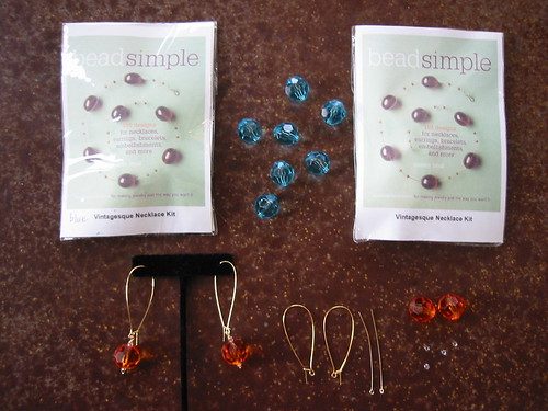 Bead Simple kits for my demo
