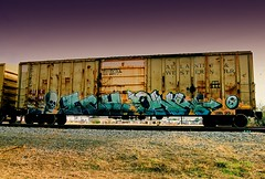 Atlantic & Western Got Blessed (All Seeing) Tags: art graffiti trains owl ich ichabod graffitiart freights paintedtrains owler bostongraffiti freightgraffiti boxcarart newenglandgraffiti owlitd ichyme ichabodyme