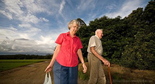 Mum and Grandad