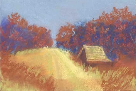 pastel road