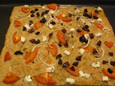 Ancient Grains Focaccia