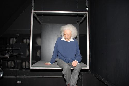 Einstein rencontre un arabe
