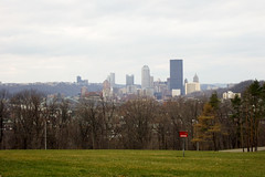 the view from schenley park