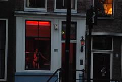 January 4 (Joe Turner Lin) Tags: woman amsterdam prostitute 2008 redlightdistrict
