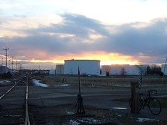 0801 Sunset on the Tank Farm