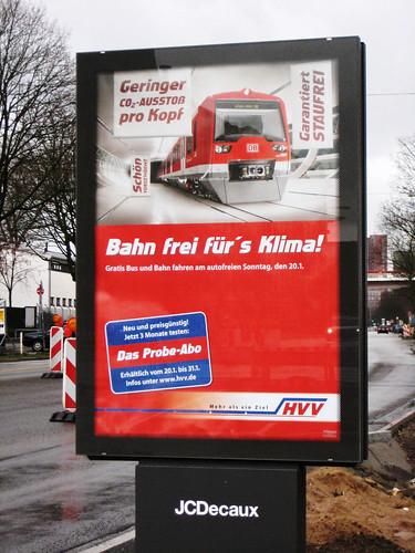 Werbeplakat der HVV
